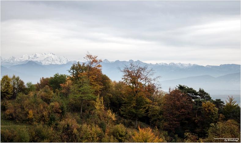 automne mont blanc